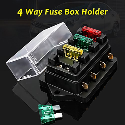 heavy-duty impact molded relay socket with 5 wires。white common, black  normally closed, and yellow normally open  package include: 4 relays + 4  relay