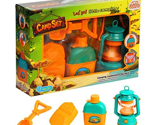 Beach Toys For Girls : Quadpro kids camping toys gear set toddler beach pretend