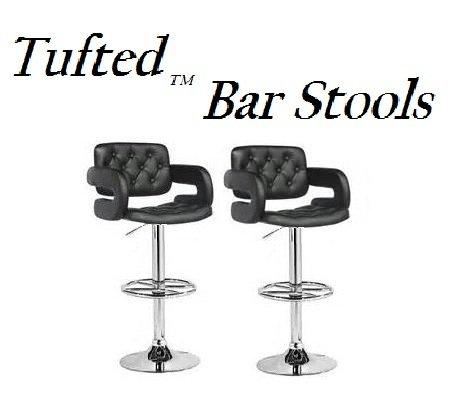 Corliving Dab 909 B Tufted Adjustable Bar Stool With