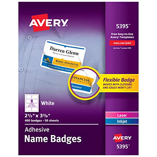 avery printable business cards  laser printers  400 cards  2 x 3 5  clean edge 5877  u2013 etramay